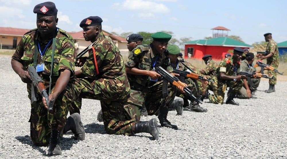 Kenyan military