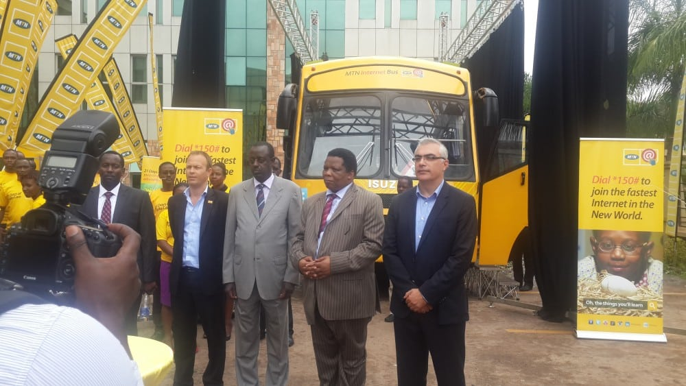 MTN Uganda Launches the 'MTN Internet Bus' to Boost ICT Literacy in Rural Uganda