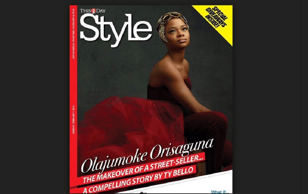 Agege bread seller stuns at ThisDay Style magazine