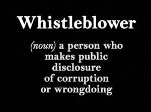 Corruption Whistleblower