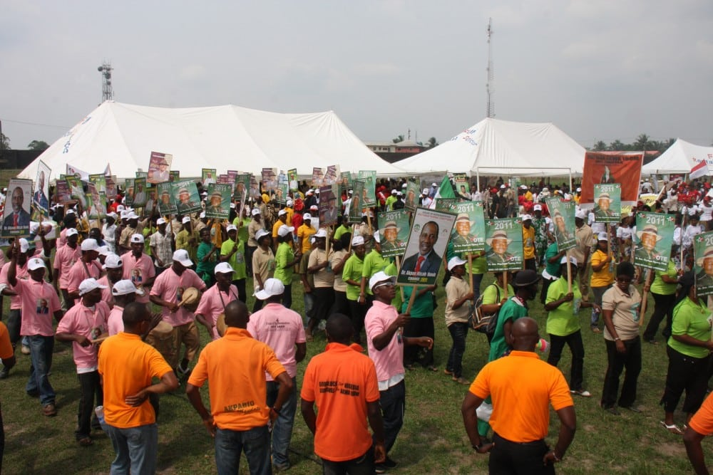 Political Rally in Eket