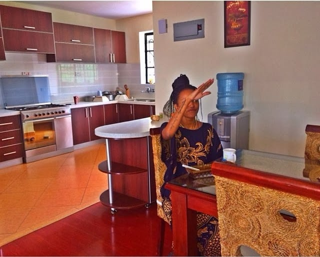 Huddah Monroe apartment