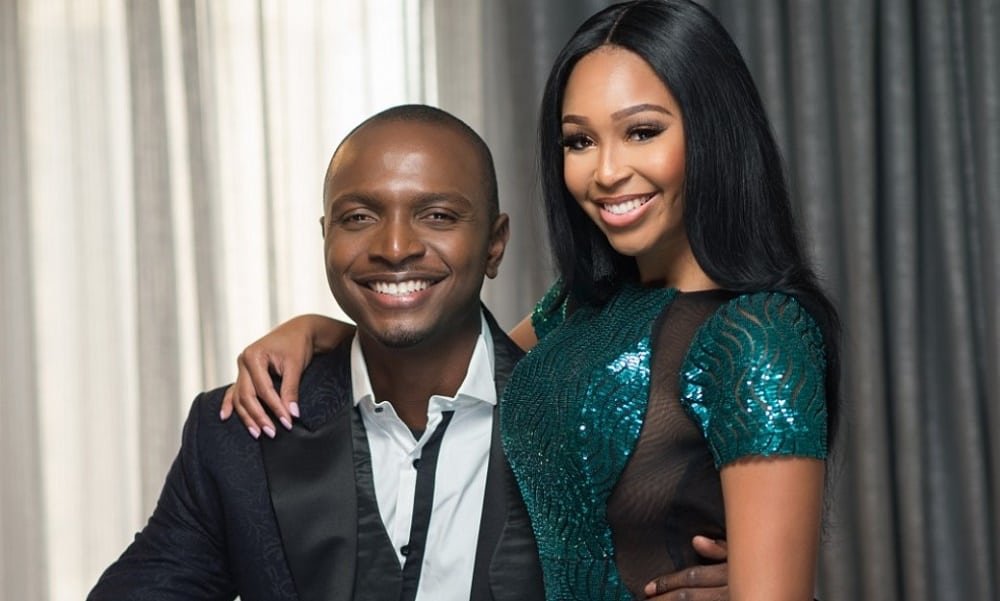 2016 AMCVA host IK Osakioduwa and Minenhle 'Minnie' Dlamini
