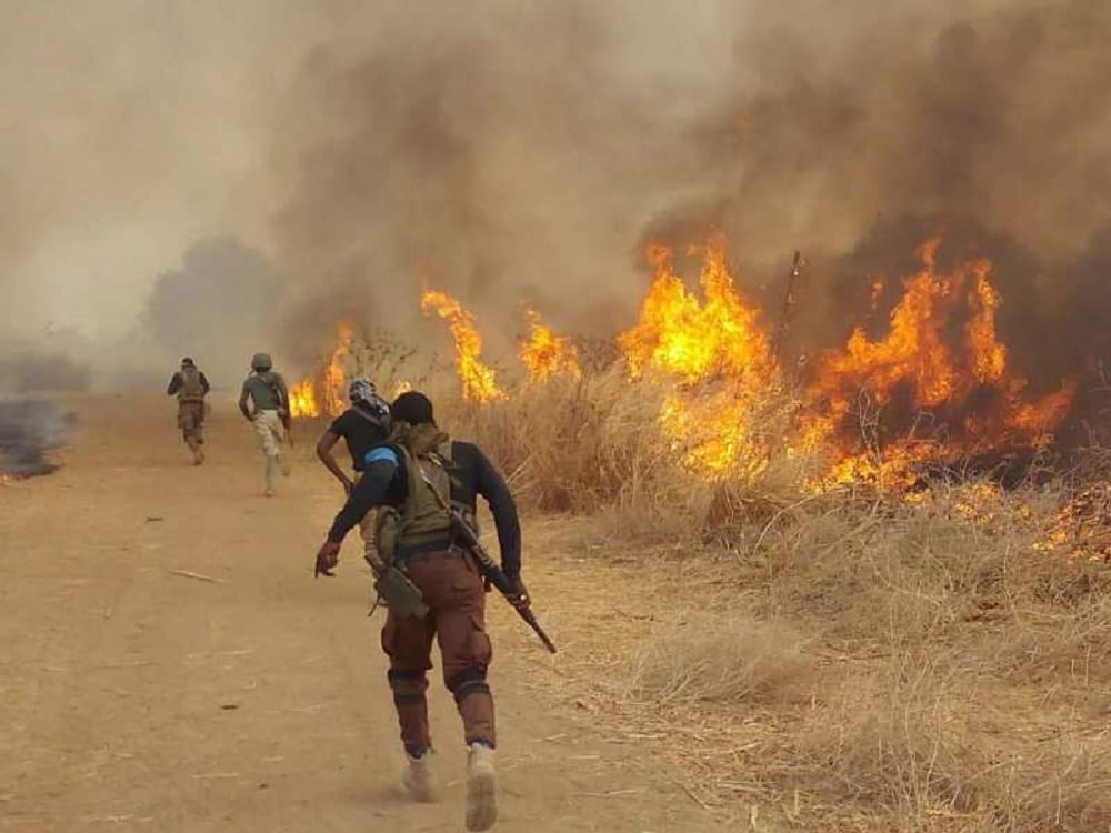 Nigerian Army Clear Terrorist Out Of Doksa Community