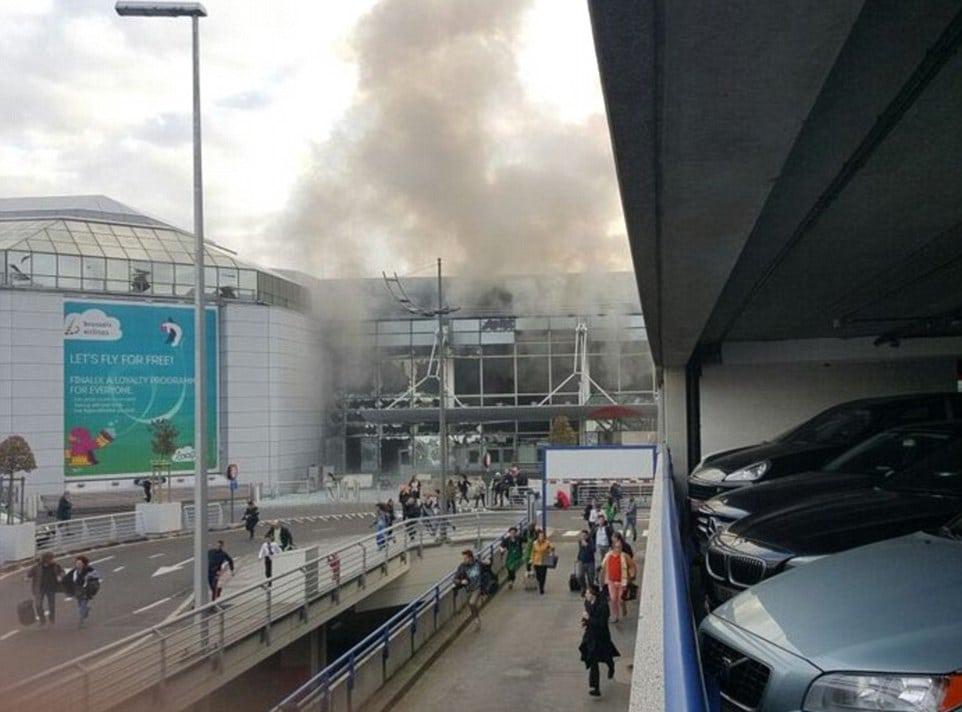 Muitiple Explosions Rocks Brussels Airport