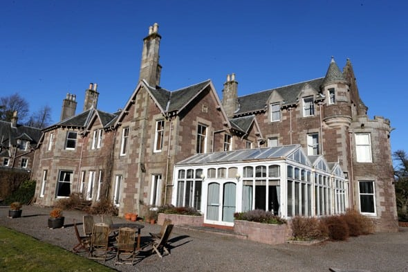 Andy Murray Cromlix-Hotel
