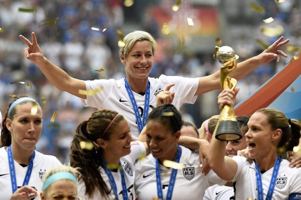 U.S. female soccer stars