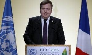 Iceland PM Sigmundur Gunnlaugsson