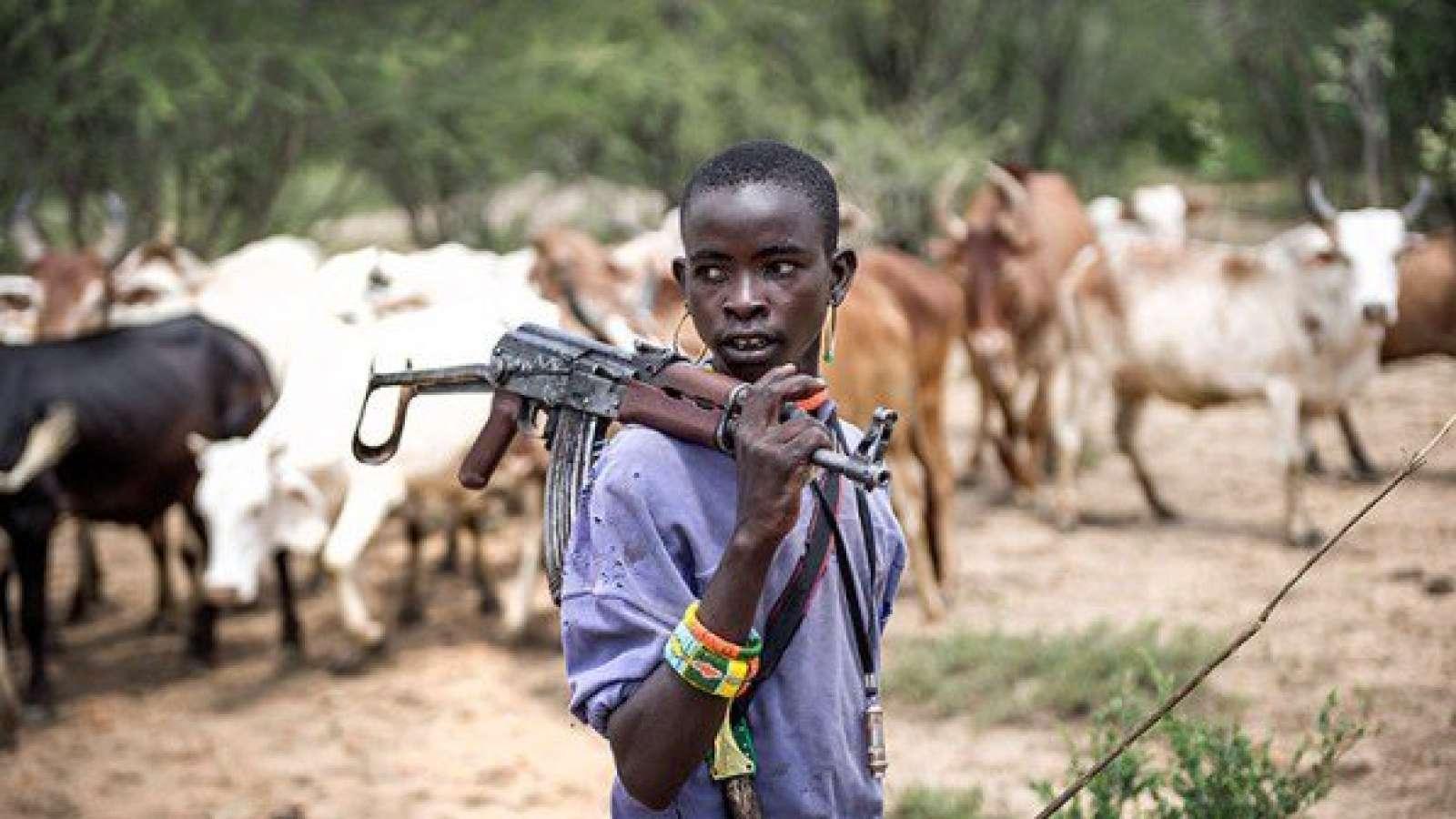 Fulani Herdsman Armed With AK-47