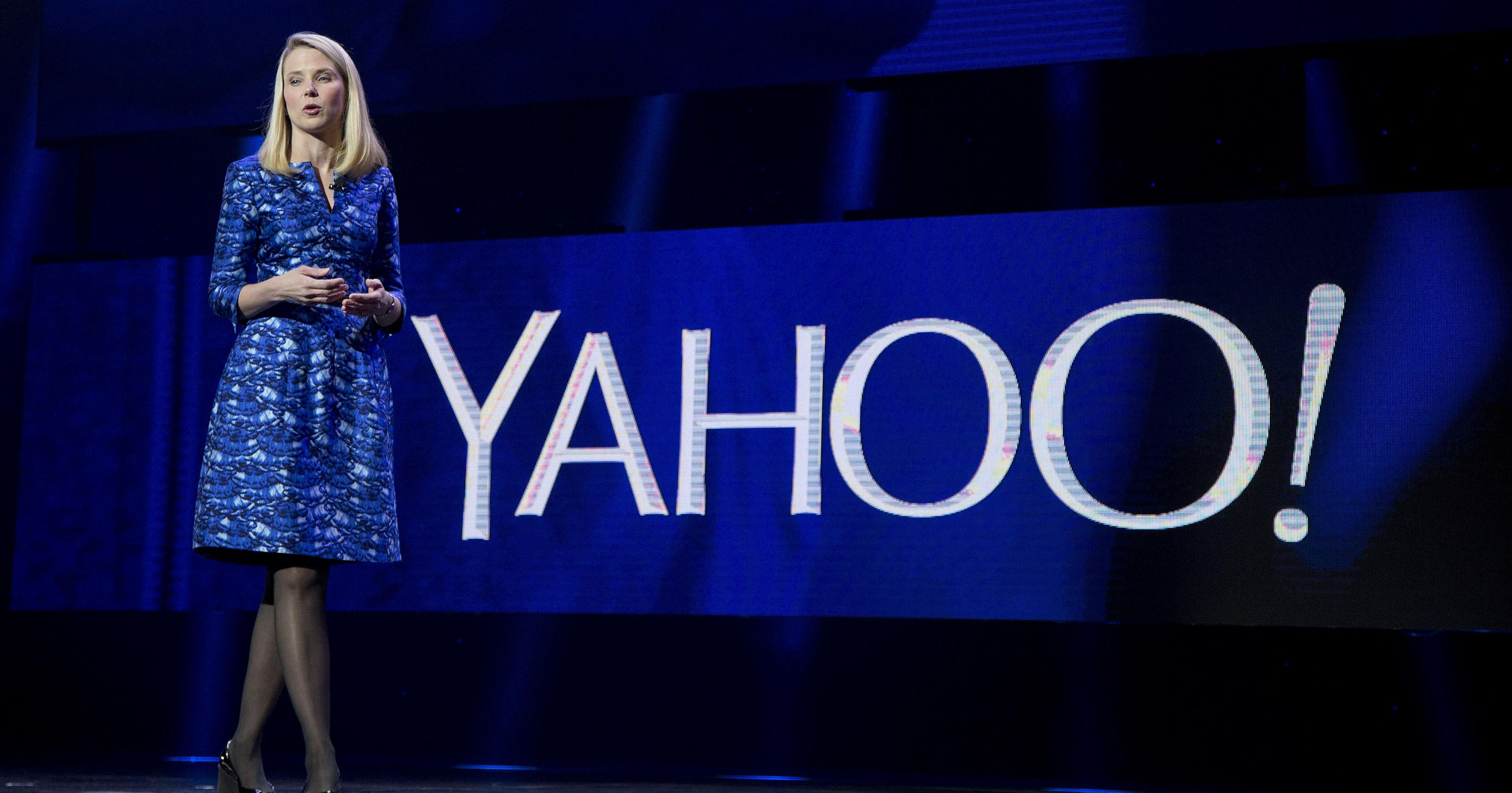 Yahoo CEO, Marissa Mayer