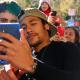 Neymar Jr, the Brazilian soccer star, with 50M social media followers
