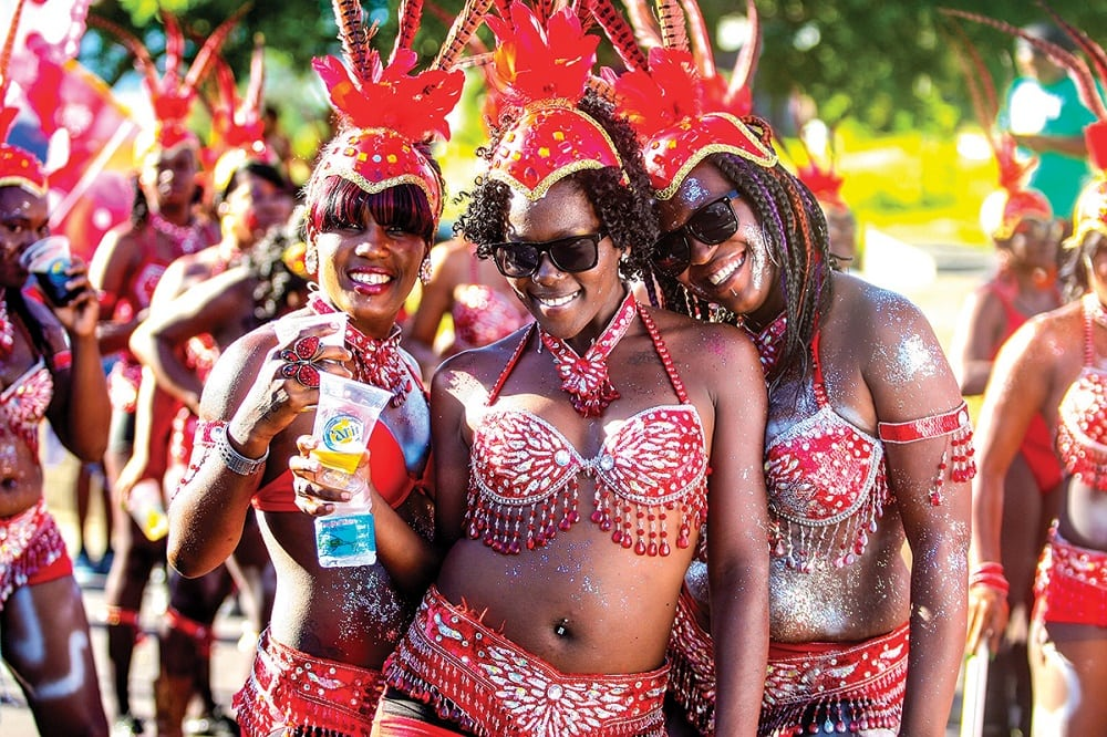 Carnival in St. Kitts and Nevis