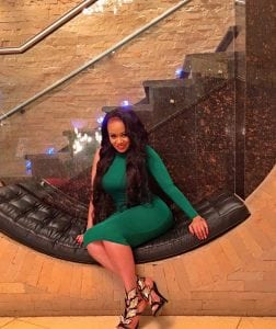 Vera Sidika inside her multi million mansion