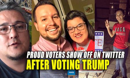 Trump Voters show off