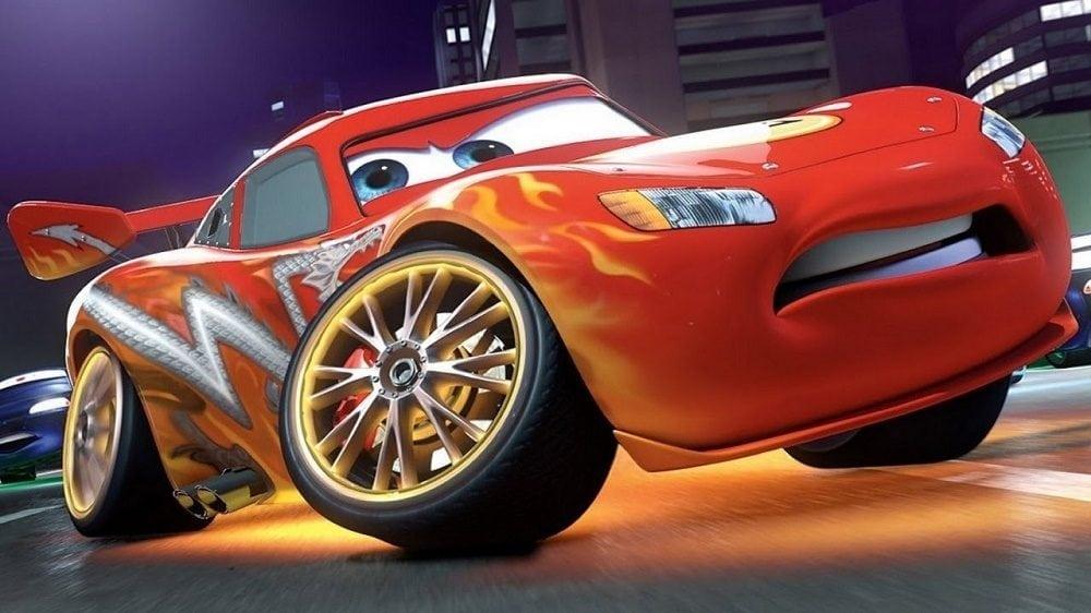 Disney movies Cars and Cars 2 car
