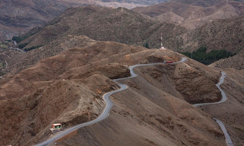 Morocco Mountain Driving
