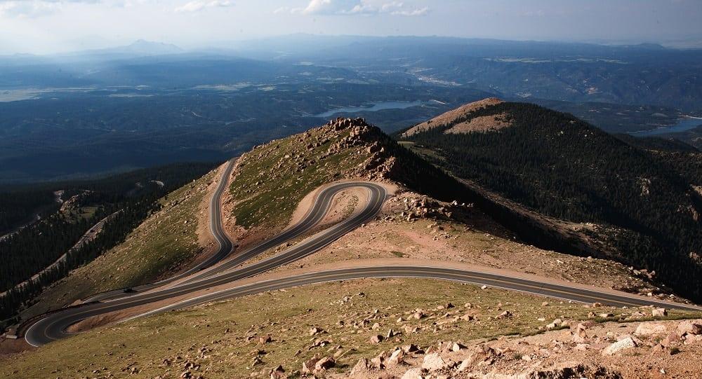 Pikes Peak Driving