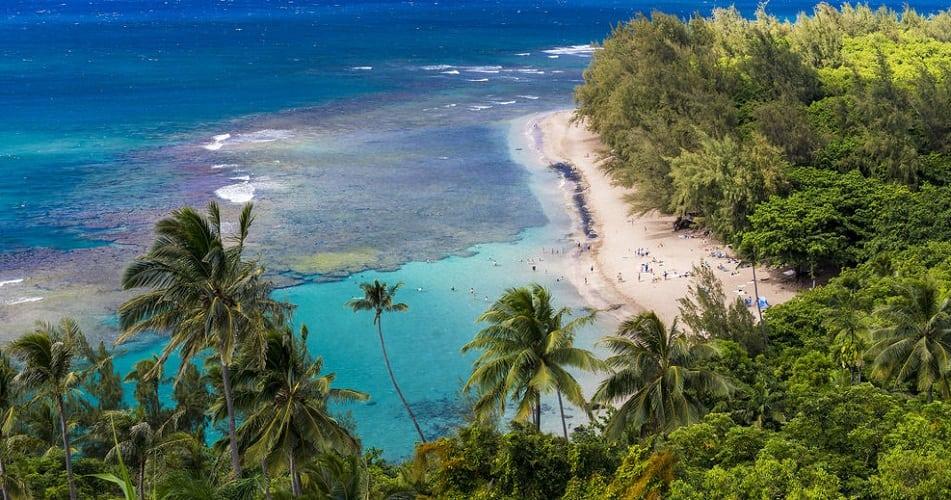kee beach kauai
