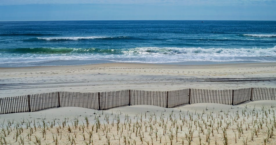 Fence and Sea