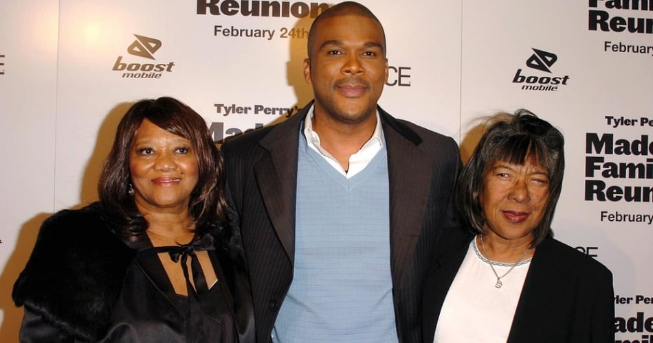 "at the premiere of ""Madea's Family Reunion"