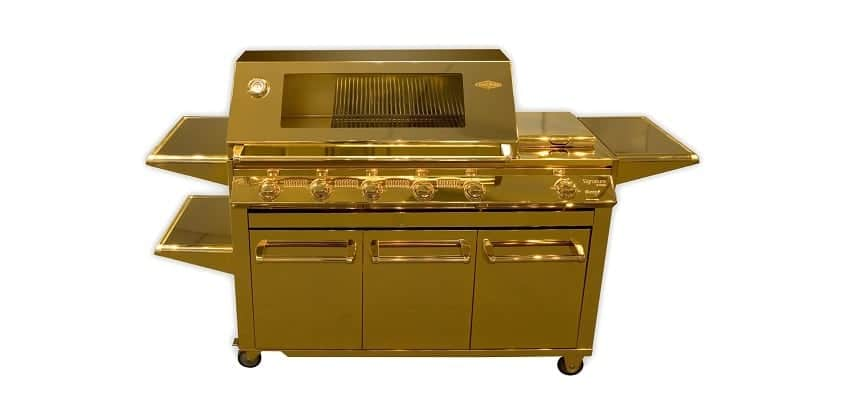 Gold Barbecue Grill