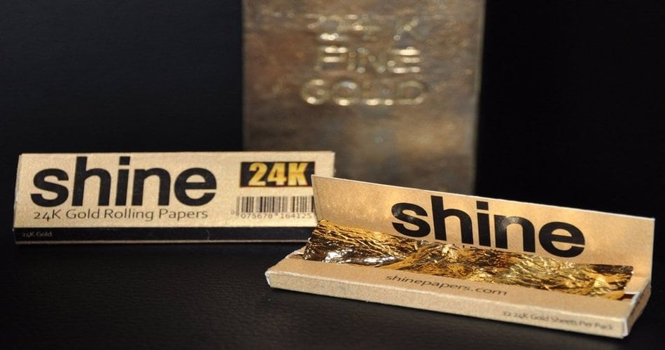 Gold Cigarette Papers