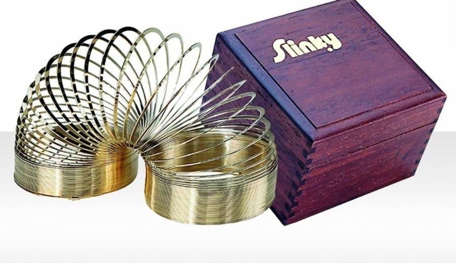Gold Slinky