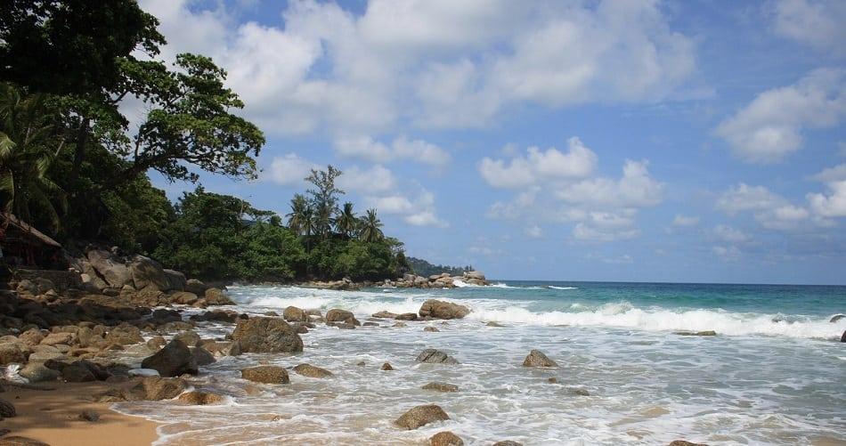 rocky beach thailand