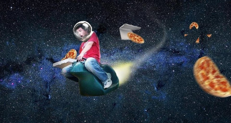 Pizza Hut in Space
