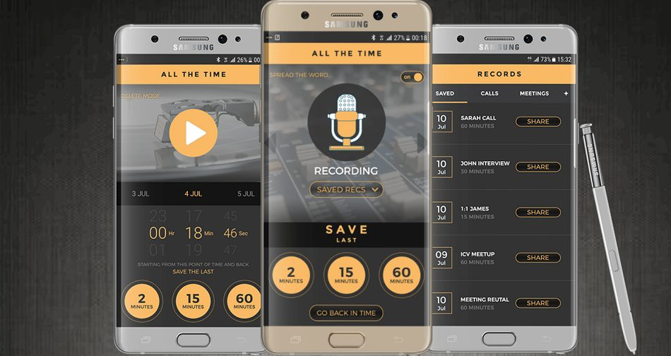 record your life app