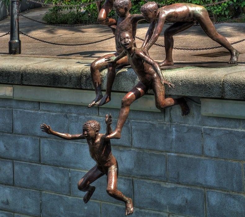 first generation sculpture