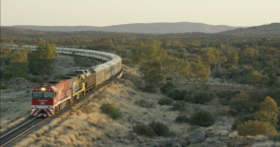 The Ghan Australian Train