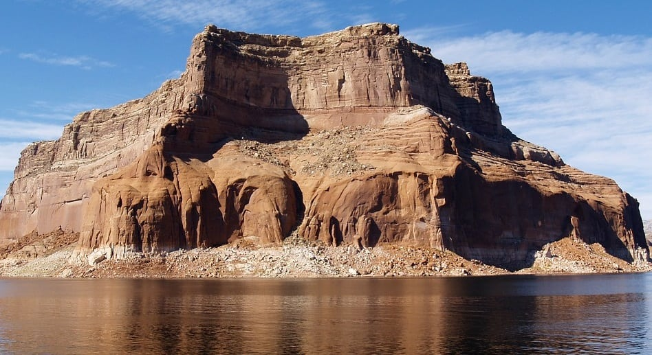 Major Powell Explored on Rafts