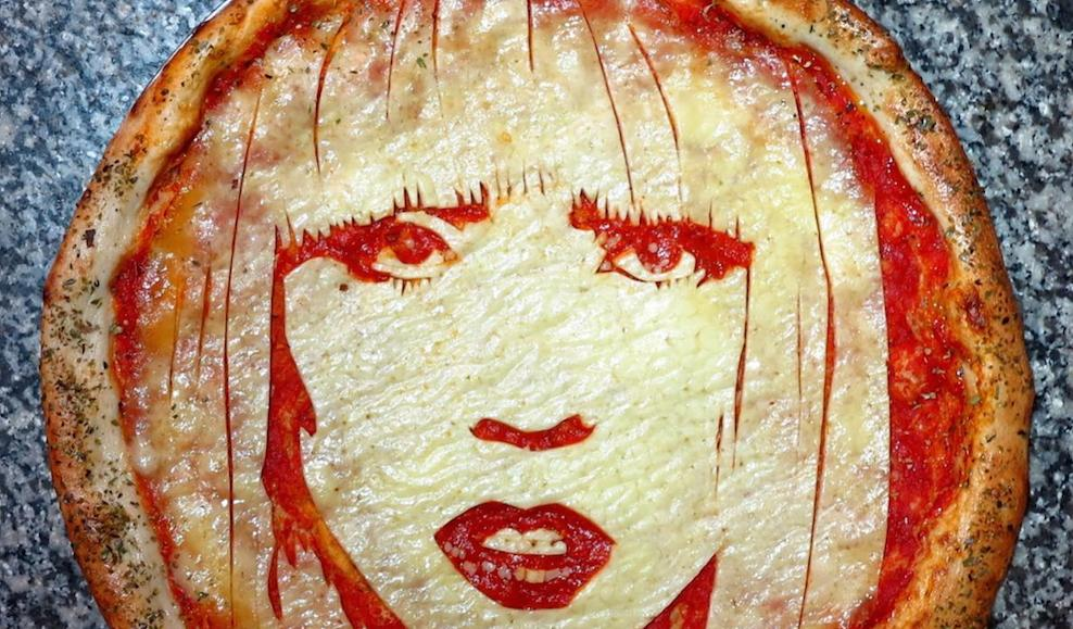 Lady Gaga Pizza
