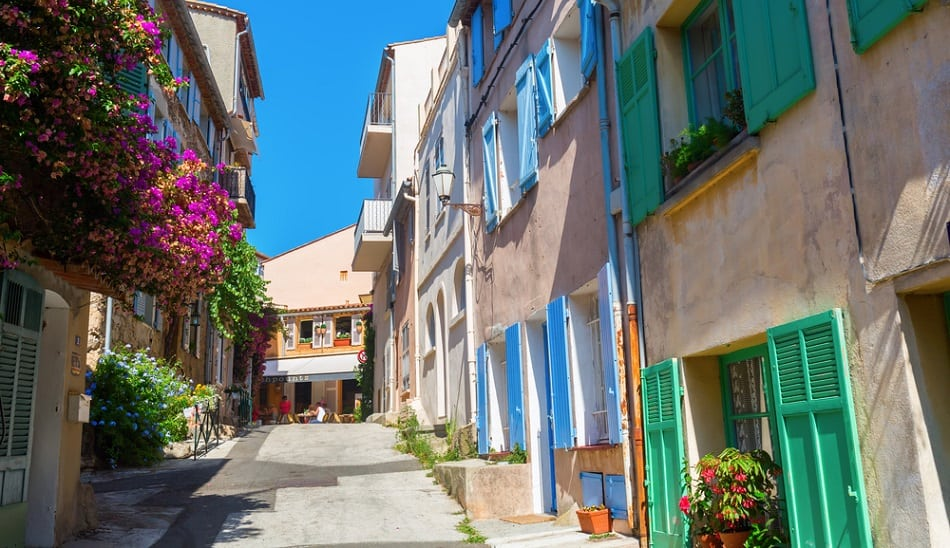 old town st tropez