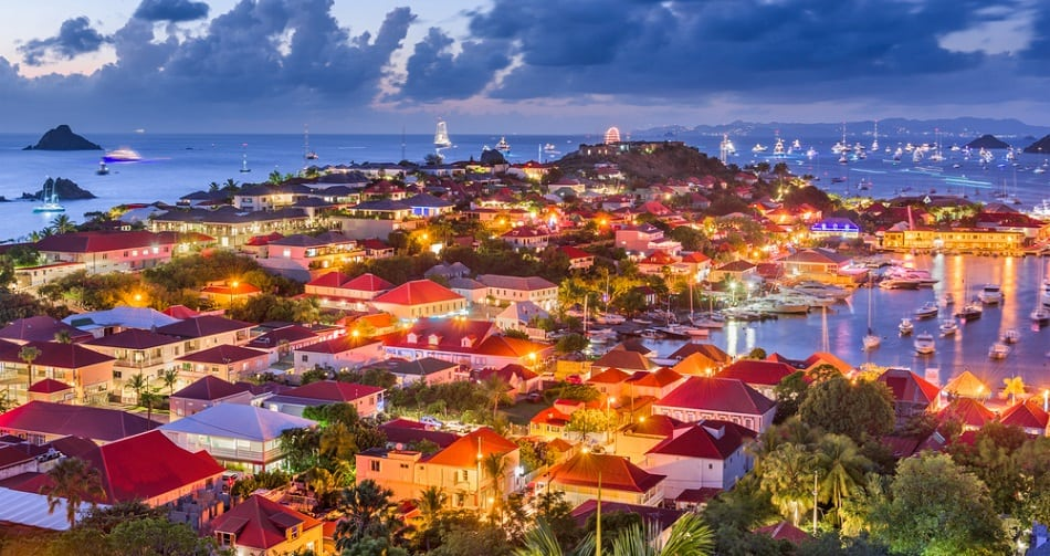 Saint Barth France in the Caribbean