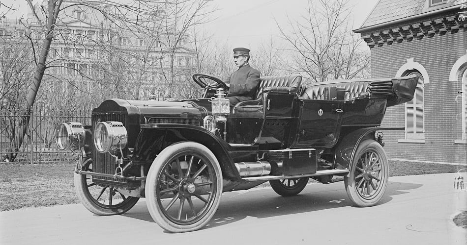 first white house car