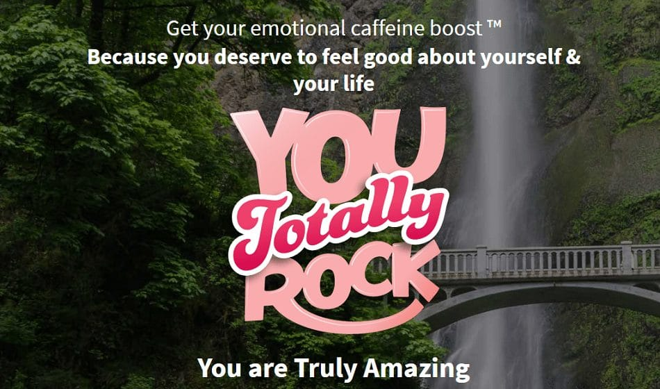 you totally rock positivity app