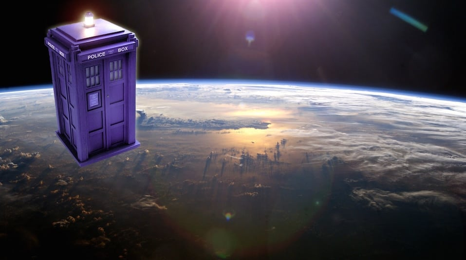 Launch a TARDIS Into SPACE