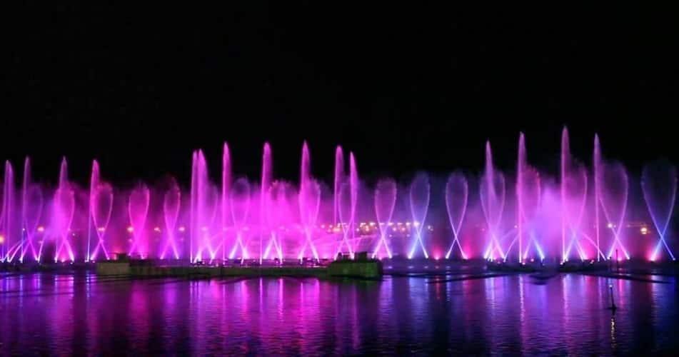 Mokpo Dancing Sea Fountain