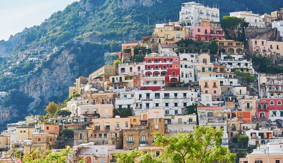 Positano Mediterranean village on Amalfi Coast