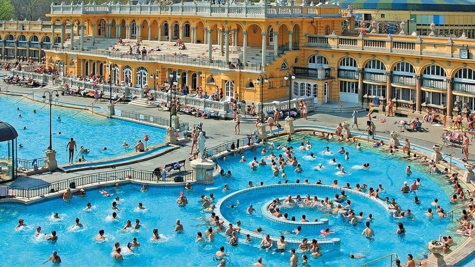 Hungary Hot Spring