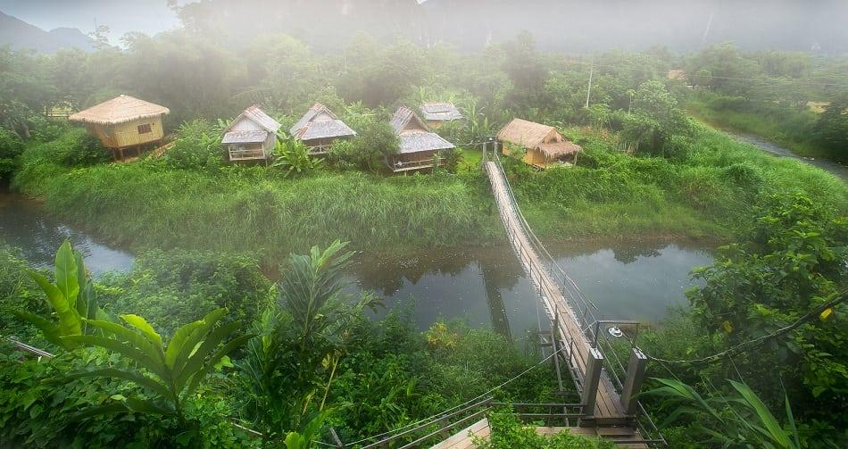 laos village