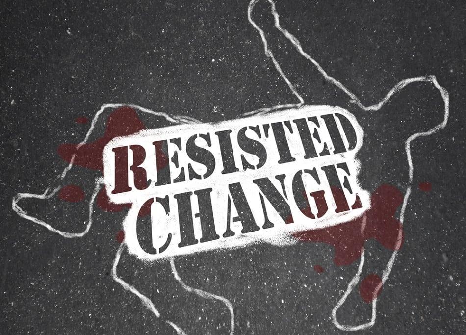 change or fail