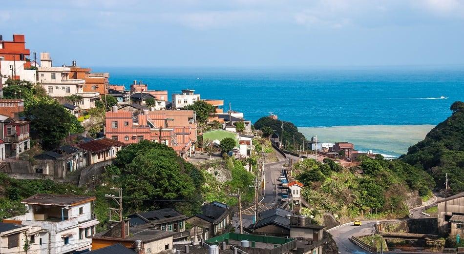View of Jiufen village