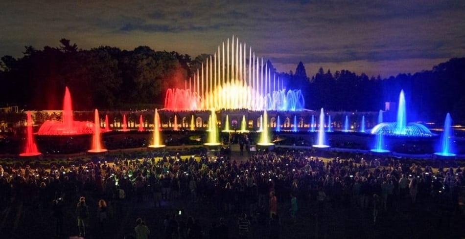 Main Fountain Longwood Gardens