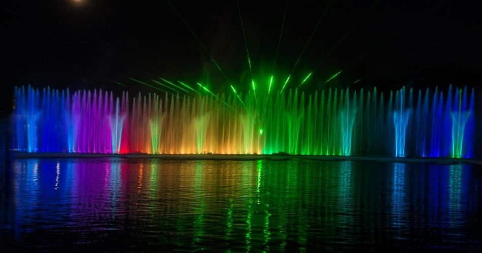 Multimedia Fountain Ukraine