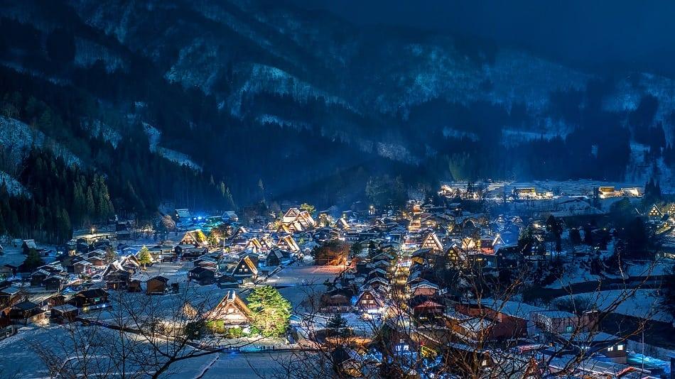 Historic Villages of Shirakawago are one of Japan's UNESCO World Heritage Sites