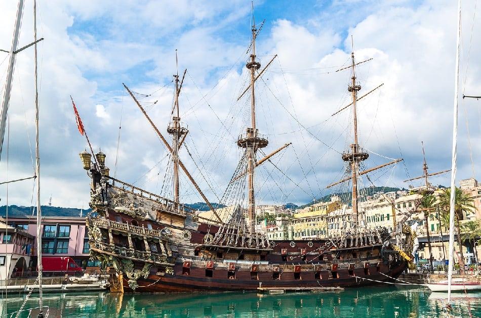 Genoa Italy Pirate Ship