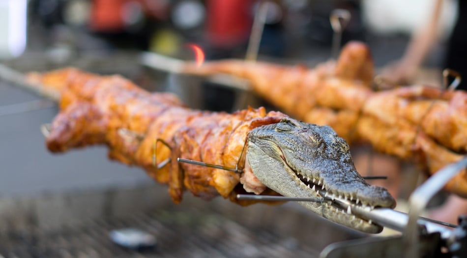 crocodile meat for sale to eat
